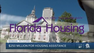 $250 million allocated for housing assistance in Florida