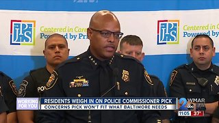People weigh in at Baltimore Police Commissioner public hearing - Video