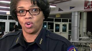 Phoenix Police Chief Jeri Williams hosts 'meet and greet' event - Video