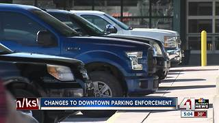 KCPD launching downtown parking crackdown - Video