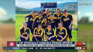 CIF officially cancels spring sports season