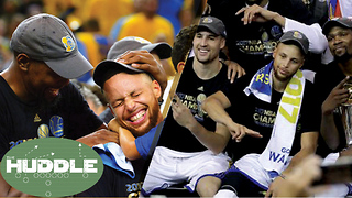Warriors Say NO to Trump, Should the NBA Crack Down on Super Teams? -The Huddle - Video