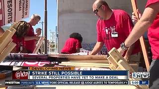 Culinary Union struck a tentative labor deal with Caesars, still waiting on MGM - Video