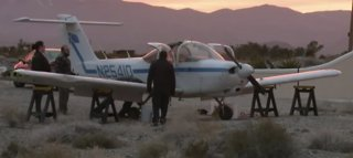 Plane makes emergency landing on road