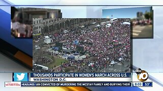 Thousands participate in Women's March