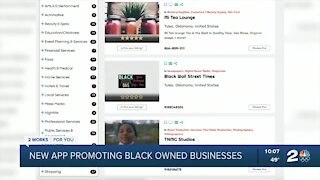 Tulsan develops app to promote local black business owners