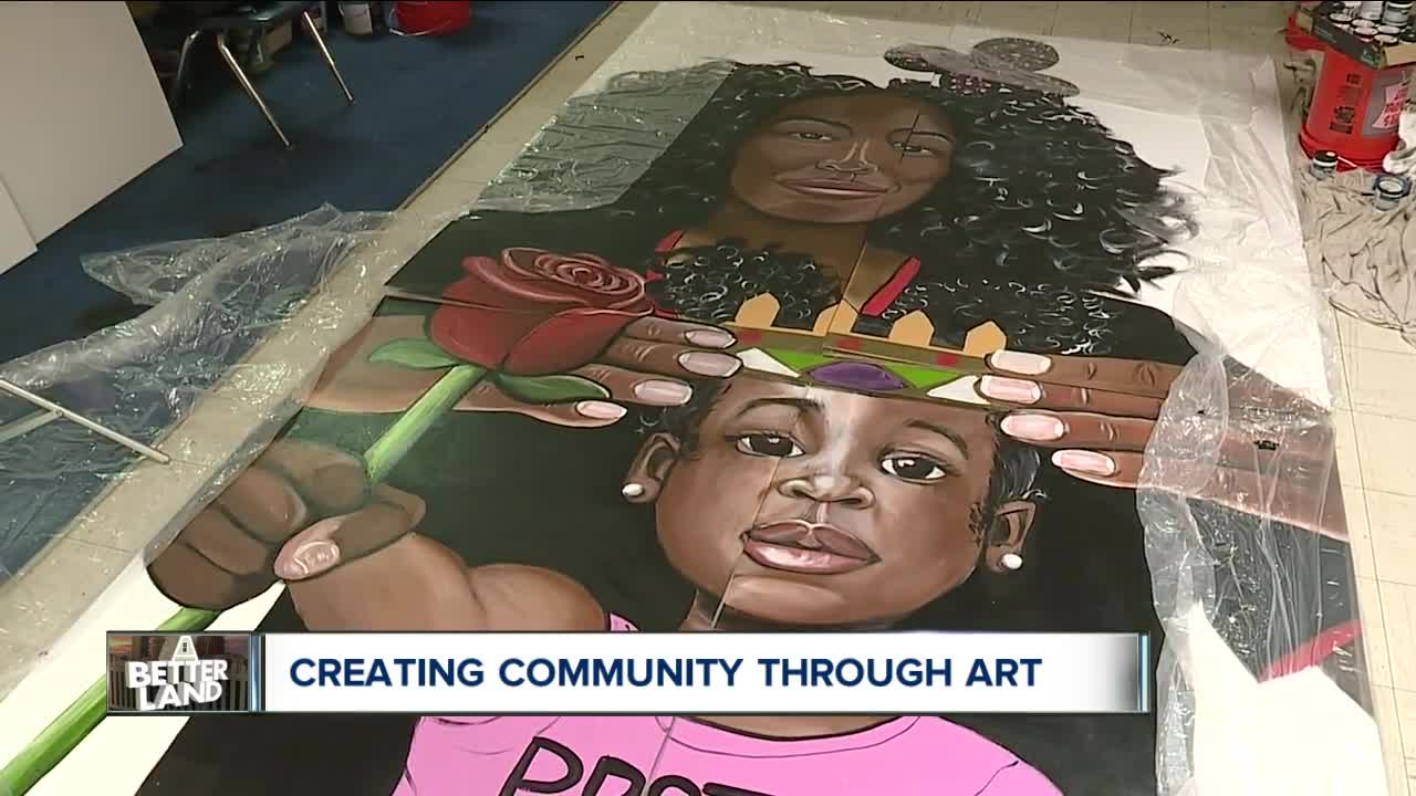 Cleveland artist Brandon Graves granted $15,000 to beautify Hough neighborhood with 6 murals