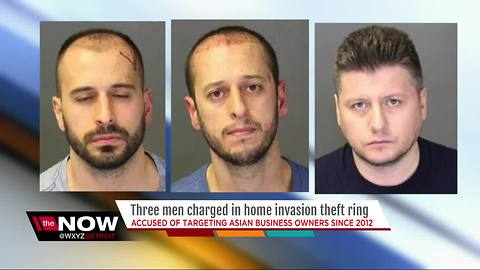 3 arrested for dozens of home invasions of metro Detroit business owners