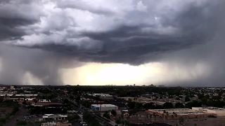 Brief landspout south of Phoenix - Video
