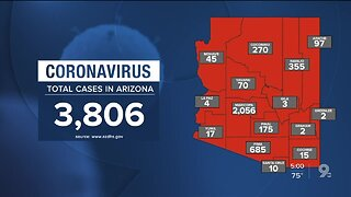 104 new coronavirus cases, 9 new deaths in Arizona