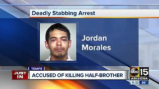Tempe police arrest suspect in deadly stabbing near McClintock and Apache - Video