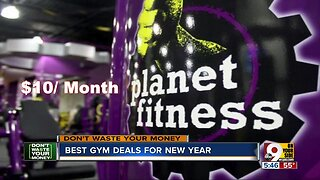 Don't Waste Your Money: Best gym deals for the new year