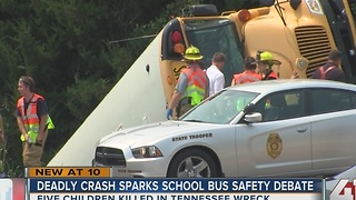 Battle reignited over school bus seat belts - Video