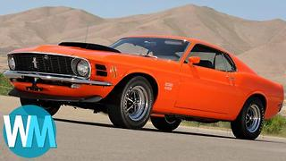 Top 5 Iconic Muscle Cars - Video
