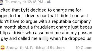 Some Uber and Lyft riders claim the companies are wrongfully charging them cleaning fees - Video