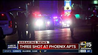Phoenix Fire: 3 people in critical condition after shooting in west Phoenix - Video