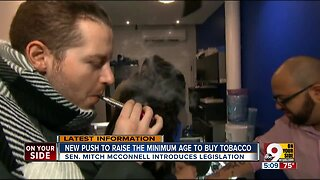Should we raise the minimum age to buy tobacco?