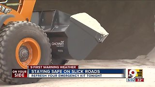 Staying safe on slick roads