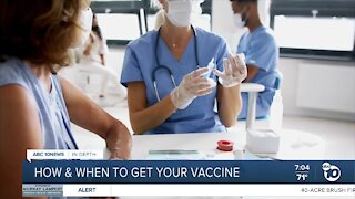 How to sign up for a COVID-19 vaccination in SD County