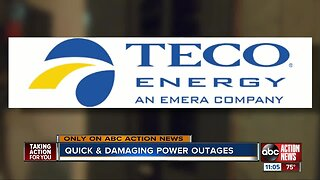 Neighbors calling for quick action from TECO after frequent, quick power outages