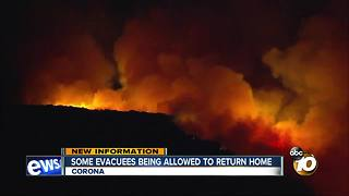 Some evacuees being allowed to return home - Video