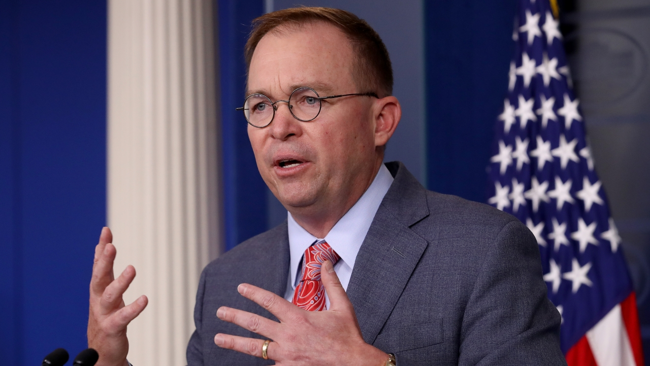 House Democrats Ask Mulvaney To Testify In Impeachment Inquiry