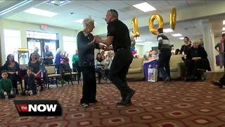 She's still dancing at 100 years old - Video