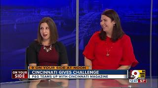 Cincinncati Gives challenge