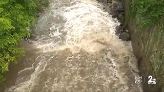 Ellicott City withstands Tropical Storm Isaias