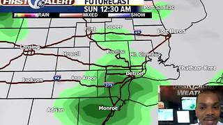 Weekend rain chances - Video