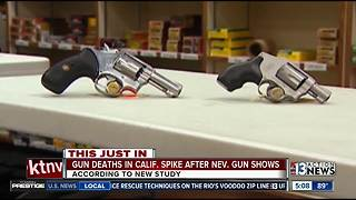 Study says Nevada guns hows tied to California violence - Video