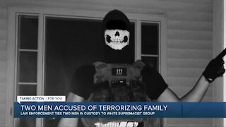 White supremacists facing charges after allegedly terrorizing family in Dexter