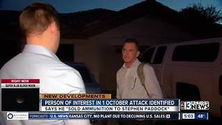 Arizona man talks about being ' person of interest' - Video