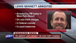 Lews Bennett arrested - Video