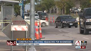 Street work slows business along 63rd Street - Video