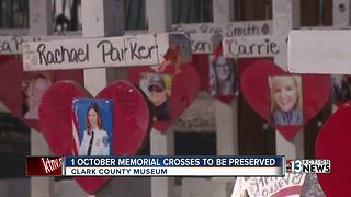 1 October memorial crosses to be preserved - Video