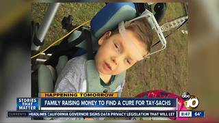 Local family holds fundraiser to fight Tay-Sachs - Video