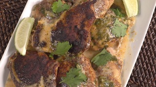 Slow cooker cilantro lime chicken - Video