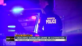 Cracking down on crime after Covington shootings - Video