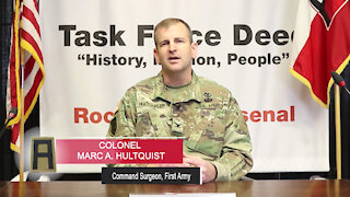 First Army Command Surgeon Answers COVID-19 Vaccine Related Questions, Parts 1-4