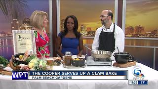 The Cooper serves up a clam bake - Video