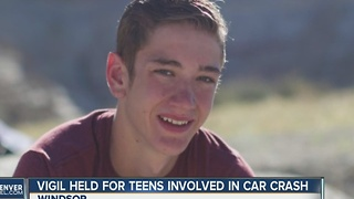 Vigil held for Windsor teen killed in head-on crash on I-25 - Video