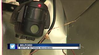 Battle between Milford neighbors