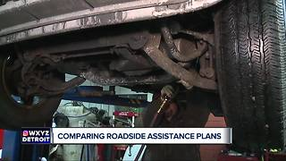 Comparing roadside assistance plans - Video