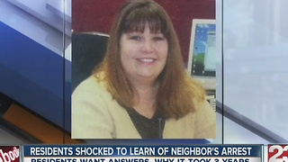 Residents shocked to learn of neighbor's arrest - Video