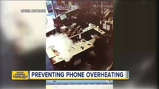 How to prevent your phone from overheating - Video
