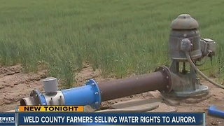 Some Weld Co. farmers selling water rights - Video