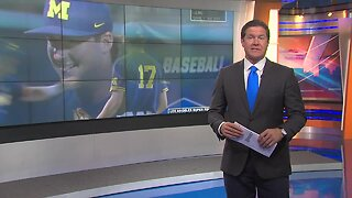 Michigan one win away from College World Series