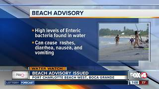 Bacterial contamination closes two Charlotte County beaches - Video