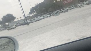 Mesquite Mall Parking Lot Floods After Deluge - Video